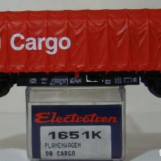 Trenes Escala: VAGON CARGO DE LA DB REF: 1651 ESCALA H0. Lote 222505916