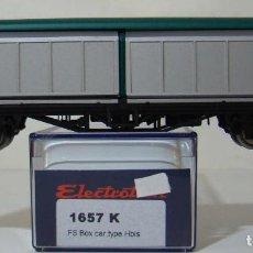 Trenes Escala: VAGON PUERTAS CORREDERAS DE LA FS REF: 1657 ESCALA H0. Lote 222506023
