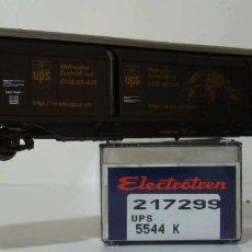 Trenes Escala: VAGON PUERTAS CORREDERAS UPS DE LA DB REF: 217299 ESCALA H0. Lote 222506827