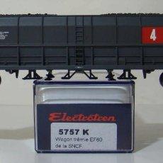Trenes Escala: VAGON TOLVA CON CARBON DE LA SNCF REF: 5757 ESCALA H0. Lote 222506981