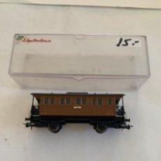 Trenes Escala: ELECTROTREN. HO. COCHE COSTA DOS EJES. Lote 222866516
