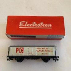 Trenes Escala: ELECTROTREN. HO. VAGON PESCADOS CONGELADOS REF 1312. Lote 222867646
