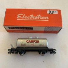 Trenes Escala: ELECTROTREN. HO. VAGON CAMPSA REF 1601. Lote 222868486