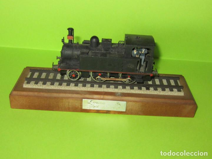 LOCOMOTORA SERIE RENFE 120-0201 ELECTROTREN, CON PEANA COMPLETA (Juguetes - Trenes Escala H0 - Electrotren)