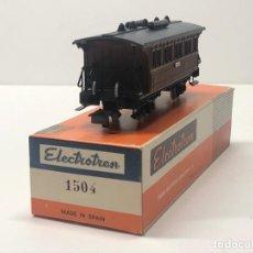 Trenes Escala: ELECTROTREN H0 1504 - COSTA CORTO DOS EJES CON LUZ CORRIENTE CONTINUA M.Z.A. Lote 224146953