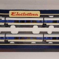 Trains Échelle: ELECTROTREN H0 3203 K - TALGO 200 UNE A.V. RENFE DE 6 COCHES. Lote 226104675