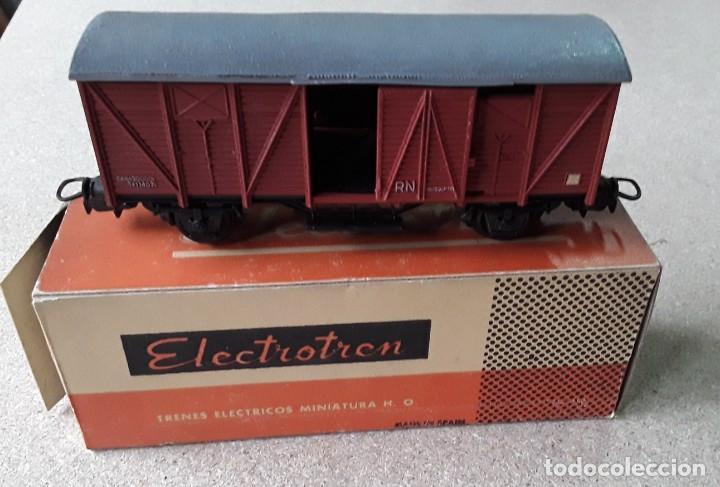 VAGON ELECTROTREN RN HO PUERTAS CORREDERAS (Juguetes - Trenes Escala H0 - Electrotren)