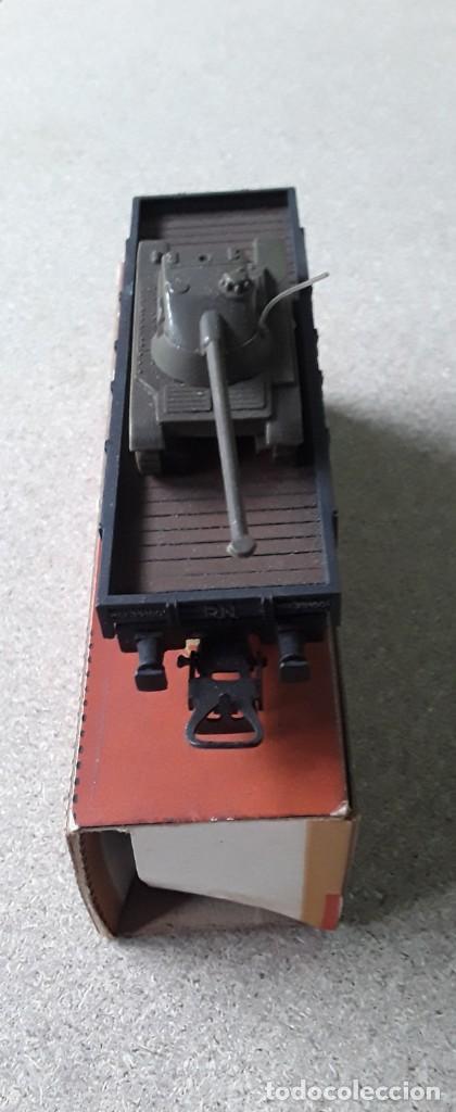 Trenes Escala: Vagon electrotren ho transporte tanque antiguo - Foto 2 - 227231165