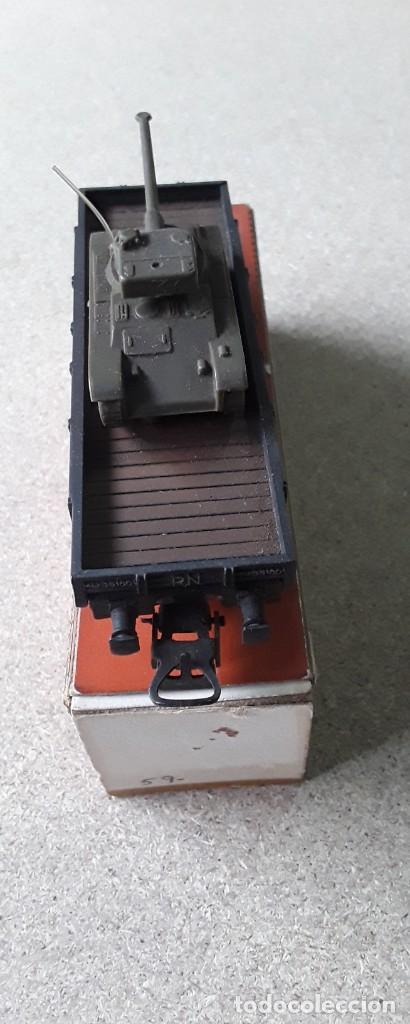 Trenes Escala: Vagon electrotren ho transporte tanque antiguo - Foto 3 - 227231165