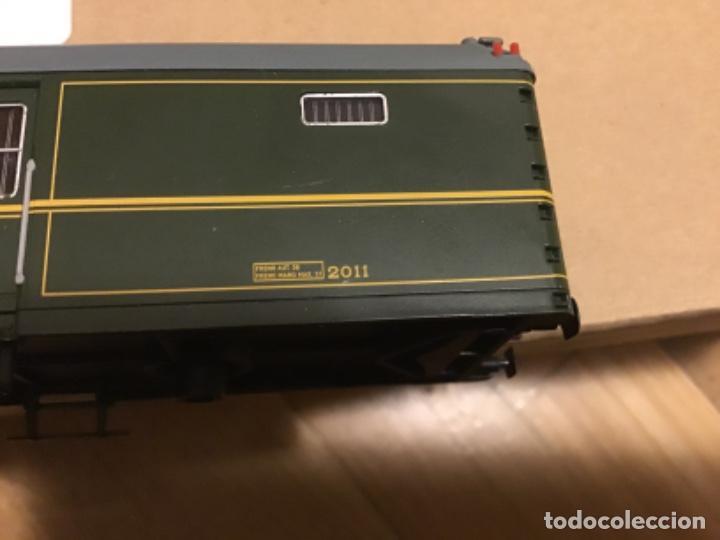 Trenes Escala: Electrotren h0. Vagón furgón correos verde dgdc época III. Precioso. - Foto 9 - 214912761