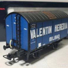 """Comboios Escala: ELECTROTREN E19029 VAGÓN CUBA DE NORTE """"VALENTÍN HEREDIA"""". Lote 229199640"""