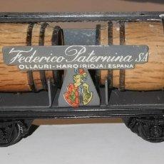 Trains Échelle: VAGON ELECTROTREN 800 METÁLICO FEDERICO PATERNINA. Lote 230447320