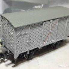 Trenes Escala: ELECTROTREN E19027 VAGÓN CERRADO UNIFICADO RENFE. Lote 232141340