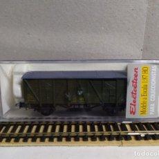 Trenes Escala: VAGÓN FURGÓN RENFE DV 339926 , VERDE , ELECTROTREN 1342. Lote 233601830