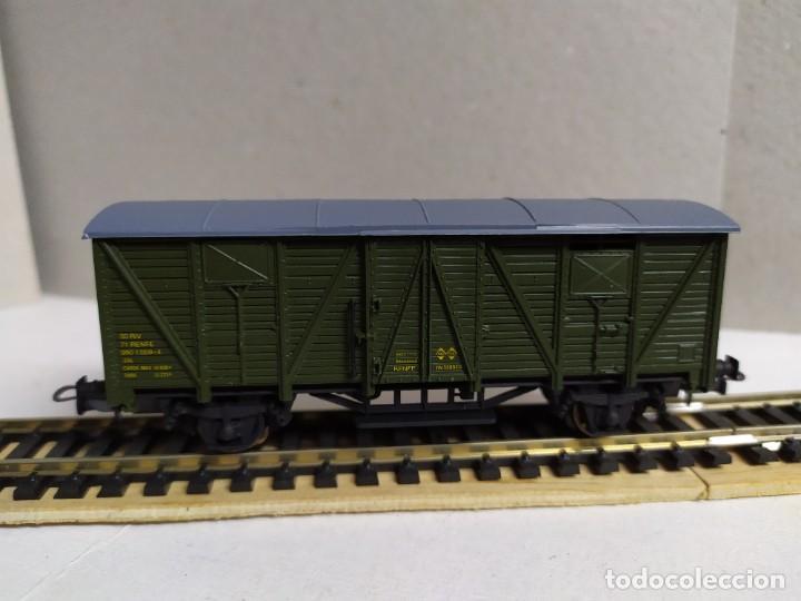 Trenes Escala: Vagón Furgón RENFE DV 339926 , verde , Electrotren 1342 - Foto 2 - 233601830