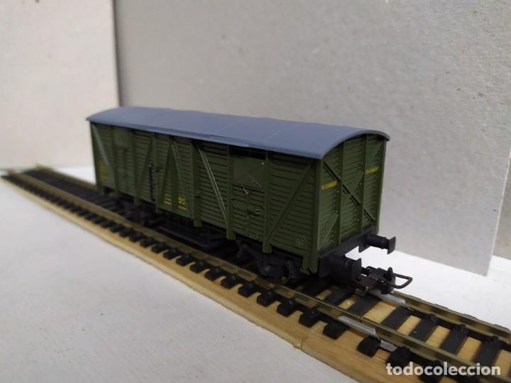 Trenes Escala: Vagón Furgón RENFE DV 339926 , verde , Electrotren 1342 - Foto 3 - 233601830