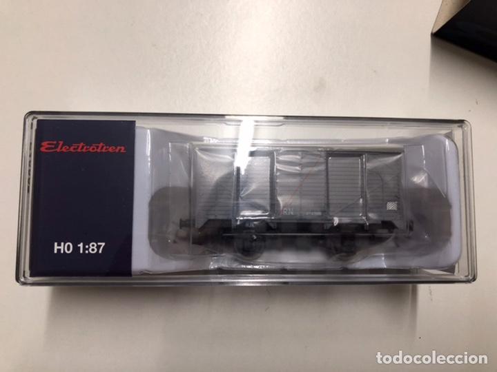 Trenes Escala: Electrotrén vagón cerrado gris R.N. E19027 - Foto 3 - 233871355