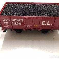 Trenes Escala: ELECTROTRÉN VAGÓN CARBONES DE LEON R.N.. Lote 233875960