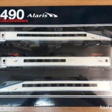 Trenes Escala: ELECTROTREN H0 DIGITAL UNIDAD ELÉCTRICA ALARIS S-490, DE RENFE, REFERENCIA E3465 DC.. Lote 233890520