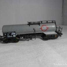 Trenes Escala: VAGÓN CISTERNA ESCALA HO DE ELECTROTREN. Lote 233912650