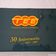 Trenes Escala: ELECTROTREN HO TALGO TEE EUROP EXPRESS 8 UDS.. Lote 233967650