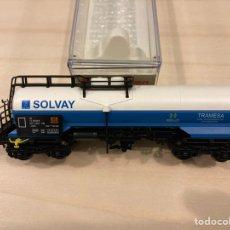 Trenes Escala: ELECTROTREN 5457 K HO RENFE SOLVAY. Lote 234048810