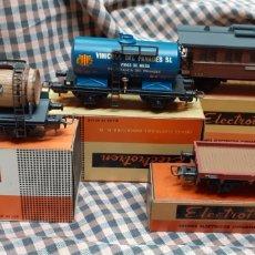 Trenes Escala: ELECTROTREN, 4 VAGONES. Lote 235814530