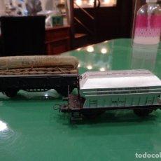 Trenes Escala: DOS VAGONES ELECTROTREN. Lote 237143360