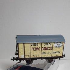 Trenes Escala: ELECTROTREN VAGÓN FUDRE PEDRO DOMECQ ESCALA H0 REFERENCIA E 19017, NUEVO. Lote 237170130