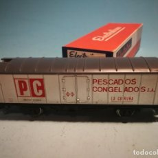 Comboios Escala: VAGÓN ELECTROTREN CON CAJA ORIGINAL. Lote 238091720