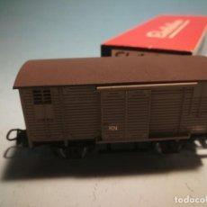 Comboios Escala: VAGÓN ELECTROTREN CON CAJA ORIGINAL. Lote 238094650