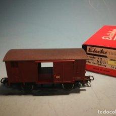 Comboios Escala: VAGÓN ELECTROTREN CON CAJA ORIGINAL. Lote 238099025