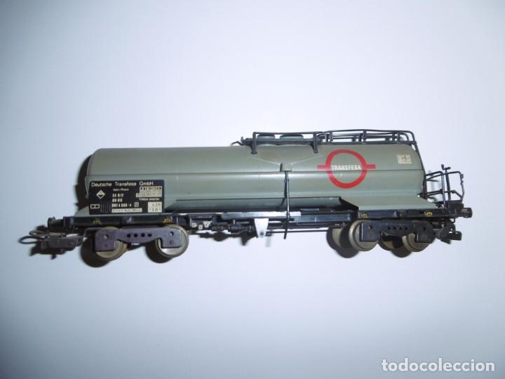 Trenes Escala: Vagón Cisterna Electrotren Transfesa H0 Transfesa 5436K Deutsche Transfesa GMBH - Foto 2 - 238676215