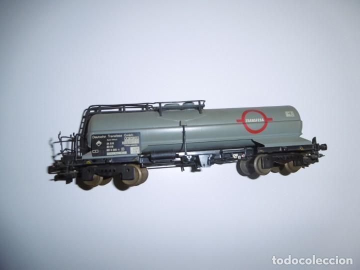 Trenes Escala: Vagón Cisterna Electrotren Transfesa H0 Transfesa 5436K Deutsche Transfesa GMBH - Foto 4 - 238676215