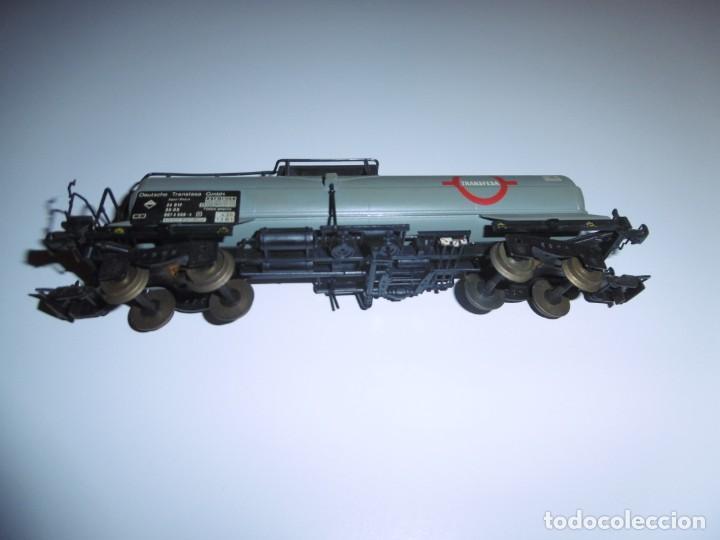 Trenes Escala: Vagón Cisterna Electrotren Transfesa H0 Transfesa 5436K Deutsche Transfesa GMBH - Foto 5 - 238676215