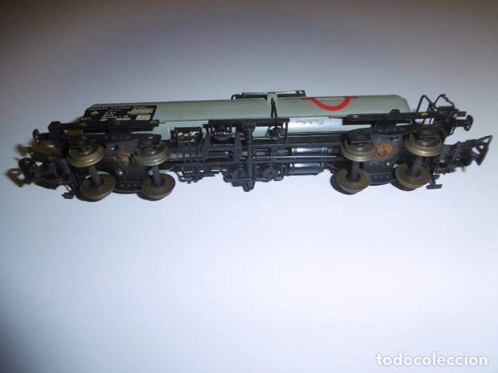 Trenes Escala: Vagón Cisterna Electrotren Transfesa H0 Transfesa 5436K Deutsche Transfesa GMBH - Foto 7 - 238676215