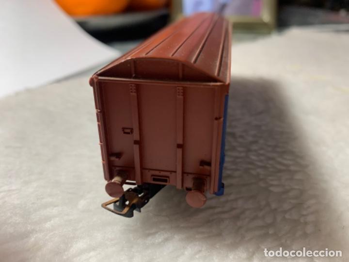 Trenes Escala: VAGON DE TREN TRANSFESA DE ELECTROTREN H0. TIENE PICO ROTO. - Foto 3 - 239963890
