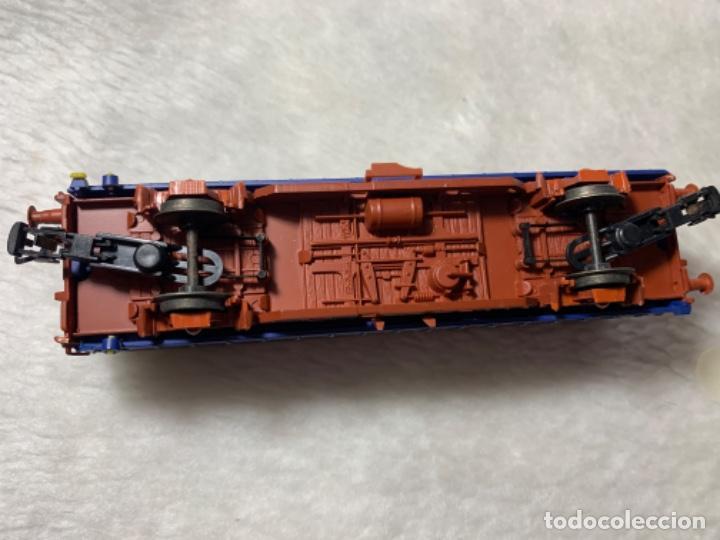 Trenes Escala: VAGON DE TREN TRANSFESA DE ELECTROTREN H0. TIENE PICO ROTO. - Foto 5 - 239963890