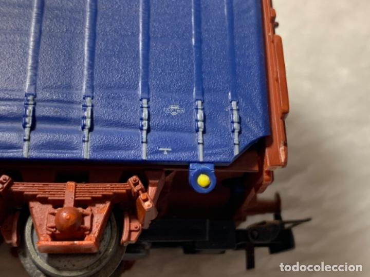 Trenes Escala: VAGON DE TREN TRANSFESA DE ELECTROTREN H0. TIENE PICO ROTO. - Foto 6 - 239963890