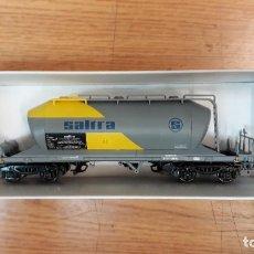 Trenes Escala: ELECTROTREN H0 VAGÓN TOLVA DE BOGÍES *SALTRA* REFERENCIA 5475 K.. Lote 242376075