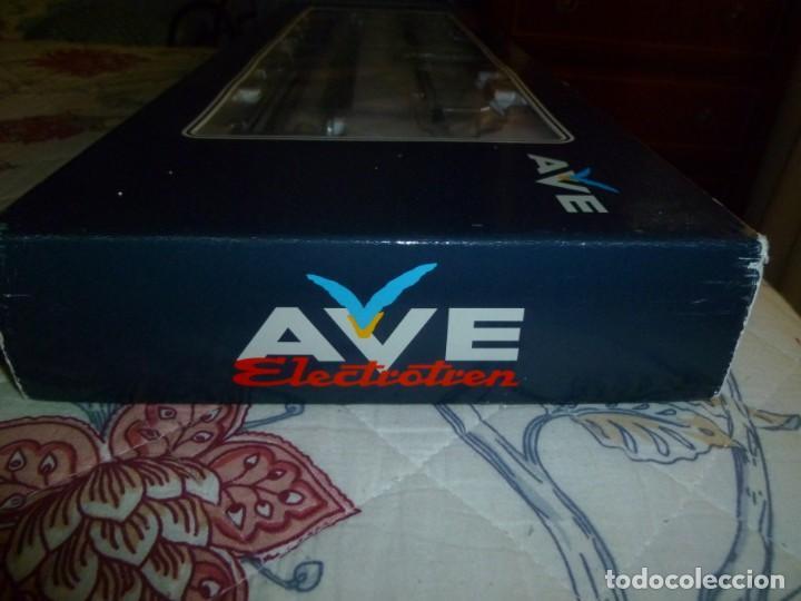 Trenes Escala: AVE S-102 RENFE ESTADO DE ORIGEN ELECTROTREN DIGITALIZADO – MUY DIFÍCIL DE CONSEGUIR - Foto 4 - 242378355