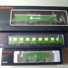 """Trenes Escala: COMPOSICIÓN """"ADIF"""" DIGITAL ELECTROTREN NUEVA. Lote 242378995"""
