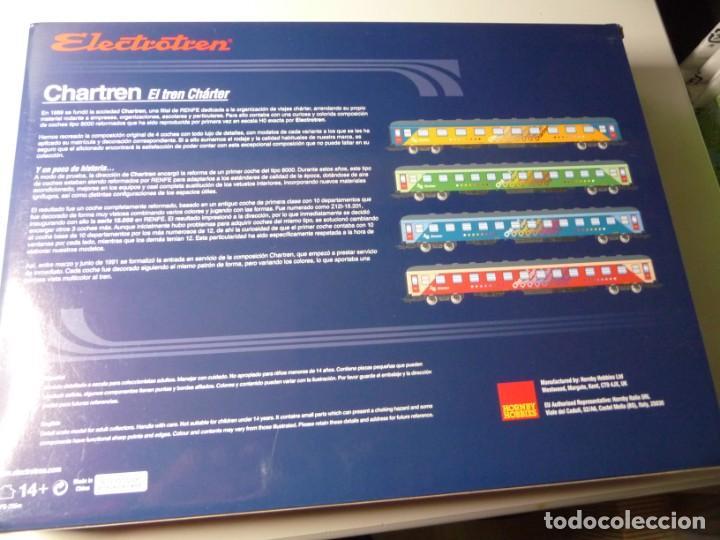 """Trenes Escala: COMPOSICIÓN """"CHARTREN"""", COCHES 15.000 ELECTROTREN NUEVA - Foto 6 - 242380675"""