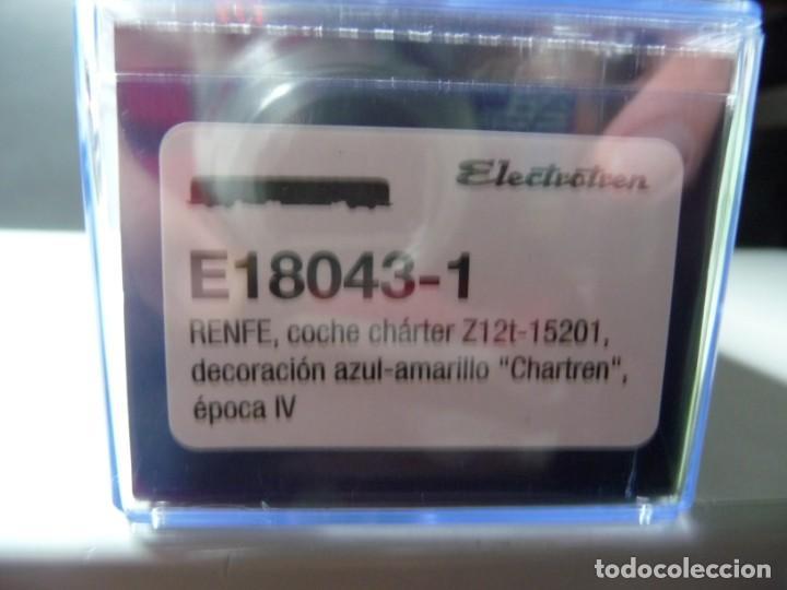 """Trenes Escala: COMPOSICIÓN """"CHARTREN"""", COCHES 15.000 ELECTROTREN NUEVA - Foto 8 - 242380675"""