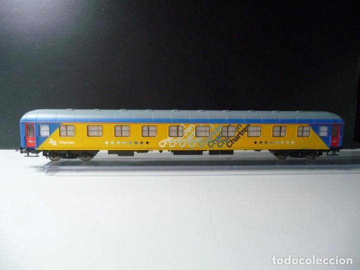 """Trenes Escala: COMPOSICIÓN """"CHARTREN"""", COCHES 15.000 ELECTROTREN NUEVA - Foto 9 - 242380675"""