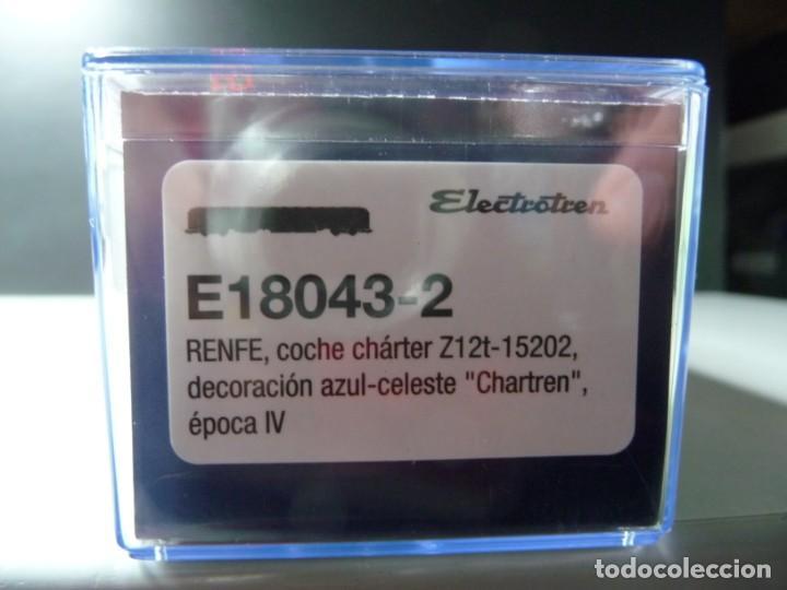 """Trenes Escala: COMPOSICIÓN """"CHARTREN"""", COCHES 15.000 ELECTROTREN NUEVA - Foto 14 - 242380675"""