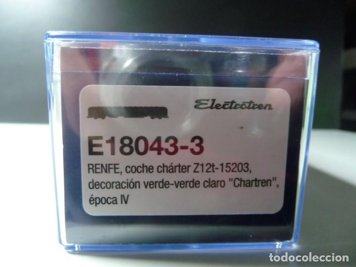 """Trenes Escala: COMPOSICIÓN """"CHARTREN"""", COCHES 15.000 ELECTROTREN NUEVA - Foto 20 - 242380675"""