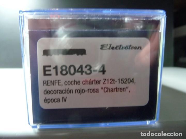 """Trenes Escala: COMPOSICIÓN """"CHARTREN"""", COCHES 15.000 ELECTROTREN NUEVA - Foto 26 - 242380675"""