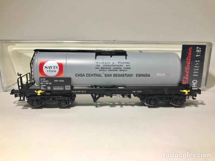 Trenes Escala: Electrotren 5856K, vagón cisterna Savin - Foto 3 - 242817015