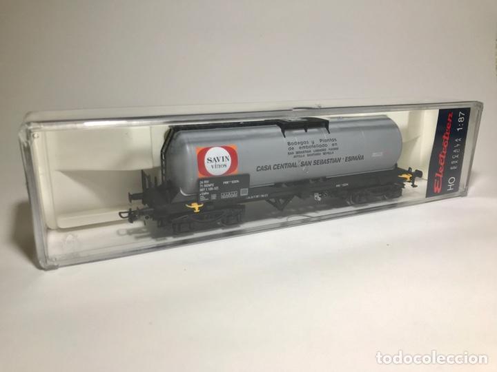 Trenes Escala: Electrotren 5856K, vagón cisterna Savin - Foto 6 - 242817015